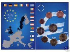 EURO PAYS-BAS  SERIE COMPLETE 1 C A  2 € NEUVE