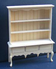 Natural Finish 1 12 Scale Queen Anne Dresser Dolls House Miniature Kitchen 099