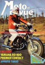 MOTO REVUE 2253 HONDA 1000 JAPAUTO YAMAHA RD 400 YZ LAVERDA 250 GILERA MONTESA