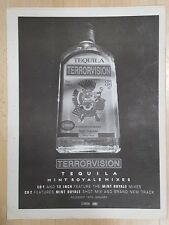 Terrorvision Tequila 1999 press advert Full page 30 x 40 cm mini poster