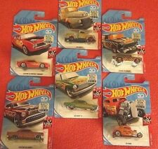 2018 Hot Wheels FLAMES Zamac '49 Ford F1 + 5 HW FLAMES,ALL FACTORY SEALED,50 ANN