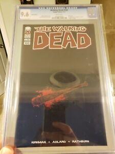 Walking Dead #100 Lucille Blank Variant Non-Foil CGC 9.6 (NM+) Image Comics
