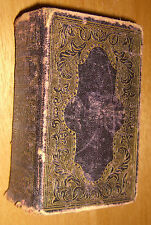Holy Bible Old & New Testaments Antique 1860
