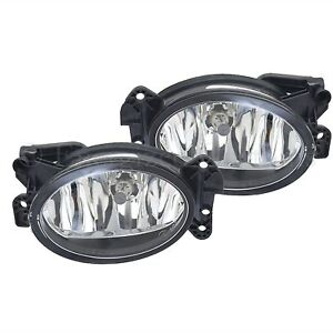 For Mercedes Benz Clk (C209 / A209) 9/2002 - 2007 Front Fog Light Lamps 1 Pair