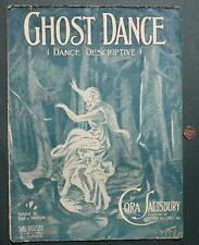 1906 Ghost Dance Haunting sheet music-Spirits-Goblins-Spooks-VERY FESTIVE & SEXY