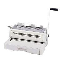 "New Tamerica DuraBind 242 14"" Legal Plastic Comb Binding Machine - Free Shipping"