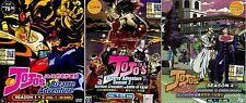 JoJo's Bizarre Adventure Seanson 1,2,3 _ Vol 1-115 END _ English Sub _ Anime DVD