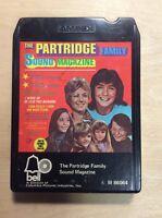 The Partridge Family Sound Magazine (8 Track Tape) David Cassidy Shirley Jones