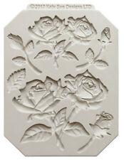 Katy Sue Rose tallos Silicona Sugarcraft Adornos Cake Mold Art & Craft