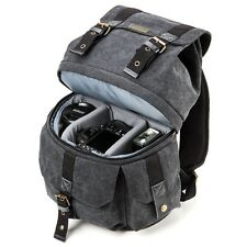 Canvas DSLR Camera Backpack Case Bag For Sony Alpha A77 II a7S A7R A7 A7 II A58