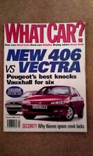 WHAT CAR? MAGAZINE FEB-1996 - Audi A8, Mondeo, Jaguar XJ6, Range Rover, Laguna