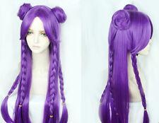 League of Legends Kaisa KDA Skin s8 Cosplay Perücke Kostüme Wig Purple Costume