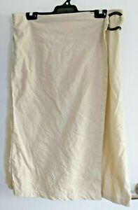 LADIES Beige Linen Blend Skirt sz 14 by ANKO
