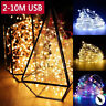 20/30/50/100LEDs USB Copper Wire String Fairy Lights Home Party Decor Waterproof