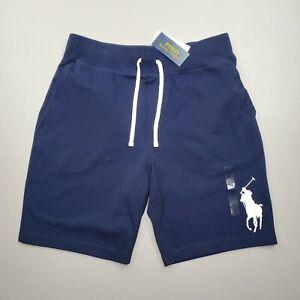 Polo Ralph Lauren Men's Big Pony Mesh Drawstring Sweat Gym Shorts Size M, XL
