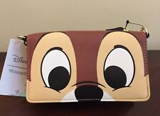 Loungefly Disney Chip 'n and Dale Chipmunks Crossbody Wallet Bag Purse
