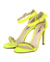 Wild Rose Jessie-04 New Women Patent Open Toe Ankle Strap Stiletto Heel Sandal