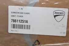 14-16 Ducati Multistrada 1200 1200s Cylinder Gasket Set 78611251A (B5)