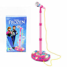 DISNEY FROZEN (OLAF ANNA ELSA)MICROPHONE SING VOICE TUBE TOY MUSIC SOUND LIGHT
