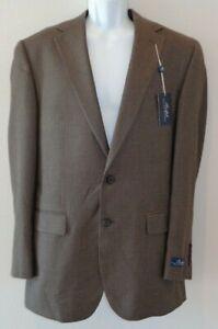 Ralph Lauren Size 40 Long NOBL12AVD011 Brown New Mens Sport Jacket Blazer Coat
