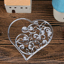 Metal Heart Cutting Dies Stencils DIY Scrapbooking Embossing Album Card Craft