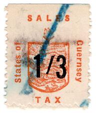(I.B) Guernsey Revenue : Sales Tax 1/3d (German Occupation)