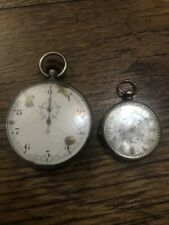 And Pocket Watch Antique Swiss Made Stopwatch