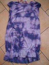 (C484) Nolita Pocket Girls Kleid Sommerkleid Batik Druck & Logo Stickerei gr.92