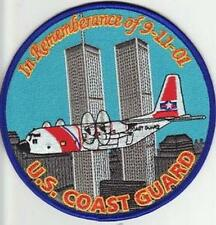 COAST GUARD NEW YORK USCG NY IN REMEMBERANCE OF 9-11-01 TWIN TOWERS 9-11 AIR