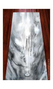 Lunar™ (silver) Spiritual, Artistic, unique chakra yoga mat