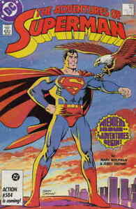 Adventures The of Superman #424 DC Comics 1st app. Cat Grant January 1987 (NM)