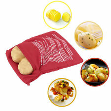 Potato Corns Bread Microwave Cooker Bag Washable Baked Cooking Roast LN