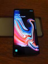 Samsung Galaxy Note9 SM-N960 - 128GB - Midnight Black (Vodafone). Cracked screen