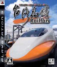 PS3 Railfan Taiwan High Speed Rail Japan PlayStation 3 F/S