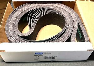 "Norton Neon R766 3"" x 132"" Sanding Belt Narrow Aluminum Oxide Coated 10 Pack"