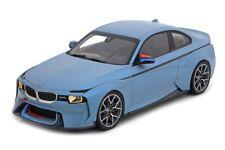BMW 2002 Hommage Collection bleu glace métallique - 1:18 Norev Voiture Model Car