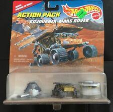 Hot Wheels Mattel Action Pack JPL Sojourner Mars Rover Pathfinder Lander Mission
