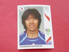 446 SHUNSUKE NAKAMURA JAPAN PANINI FOOTBALL GERMANY 2006 WM FIFA WORLD