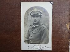 Pre WWII 1930' Real Photo - Jewish Officer / Soldier in Polish Poland Army
