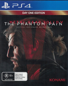 Metal Gear Solid The Phantom Pain, Playstation 4, PS4 game Complete, Used