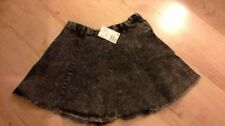 H&M Denim Patternless Casual Skirts for Women