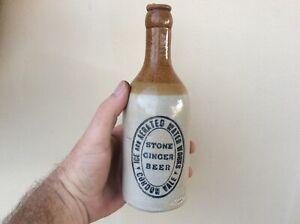 Ice & Aerated Waterworks Gordonvale North Queensland  Ginger Beer Bottle