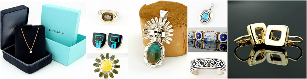Vintage and Designer Silver Jewelry