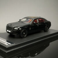 DCM 1:64 Scale Rolls-Royce Ghost Extended Wheel Black Car Model Limited Edition