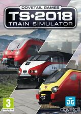 Train Simulator 2018 PC DVD LATEST SIMULATOR GAME New & Sealed + Free Delivery