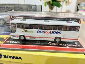 Corgi Eurolines Bus Eireann Plaxton Bus model Limited Edition 600/5000 produced
