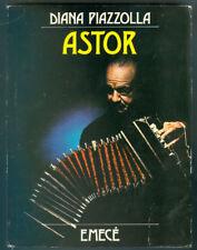 TANGO DIANA PIAZZOLLA BOOK ASTOR  1º EDITION BIOGRAFIA DEL GRAN MUSICO ARGENTINO