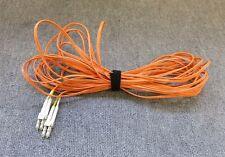 Fibre ottiche Multi-mode Duplex OM2 Arancione Patch Lead Cavo LC maschio a LC maschio 10 M