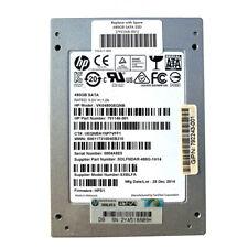 """HP 480GB SSD 2.5"""" HPS1 6G/s Solid State Drive SATA III VK0480GEQNB F. HP Dell"""