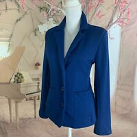NEW Rachel Zoe New York Women's Pocket 3 button Blazer Size Medium Workwear Blue